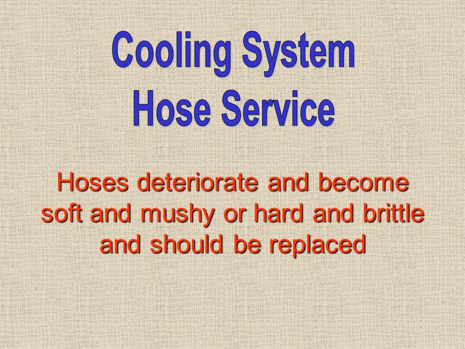 Cooling System Hose Service