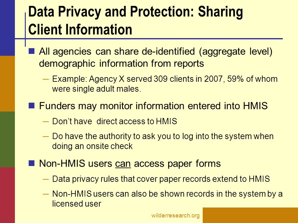 Data Privacy and Protection: Sharing Client Information
