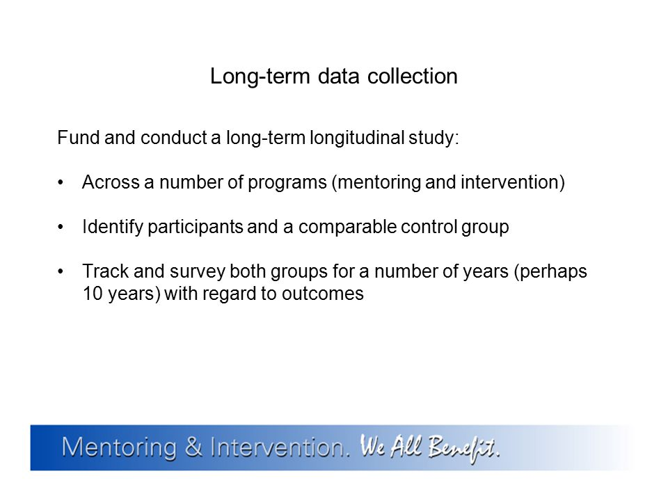 Long-term data collection