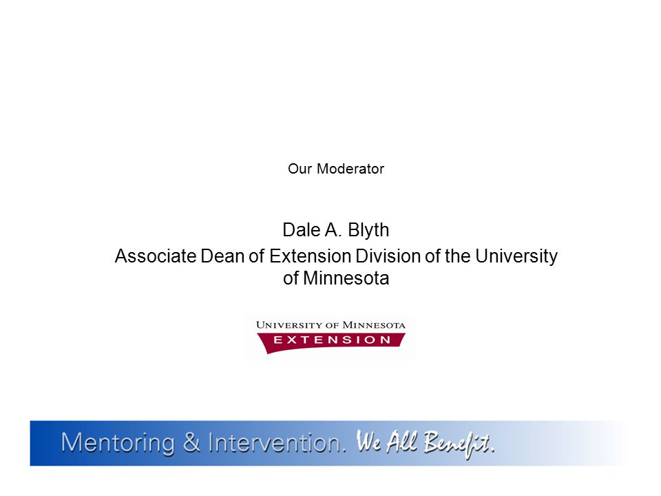 Associate Dean of Extension Division of the University of Minnesota