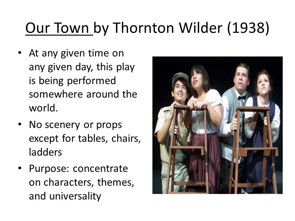 Our Town by Thornton Wilder (1938)