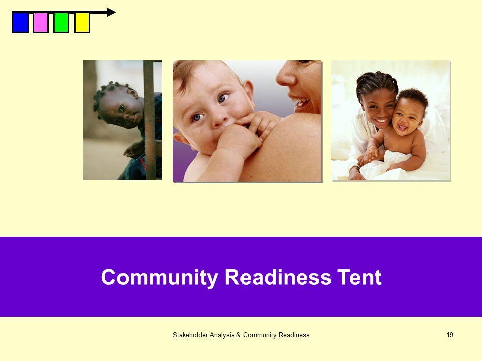Community Readiness Tent