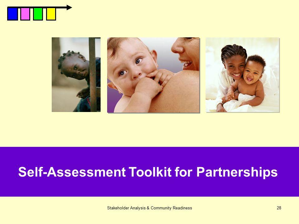 Self-Assessment Toolkit for Partnerships