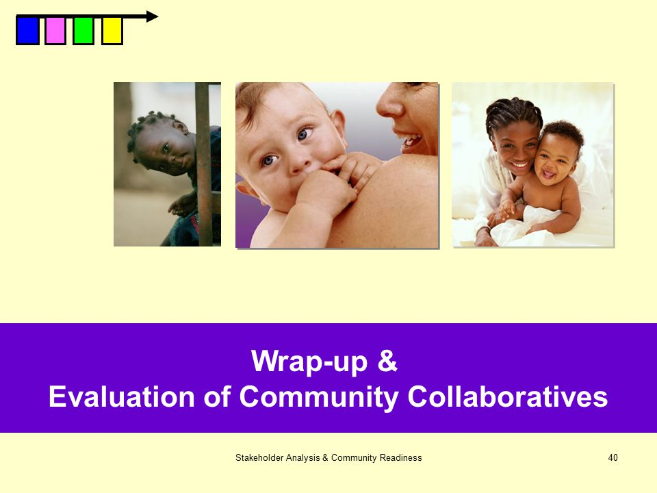 Evaluation of Community Collaboratives