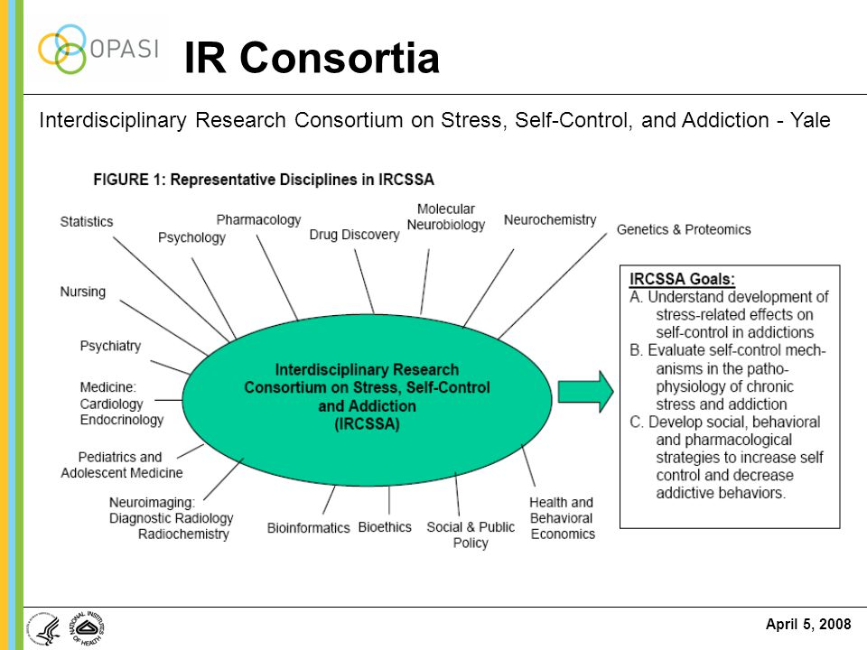 IR Consortia Interdisciplinary Research Consortium on Stress, Self-Control, and Addiction - Yale