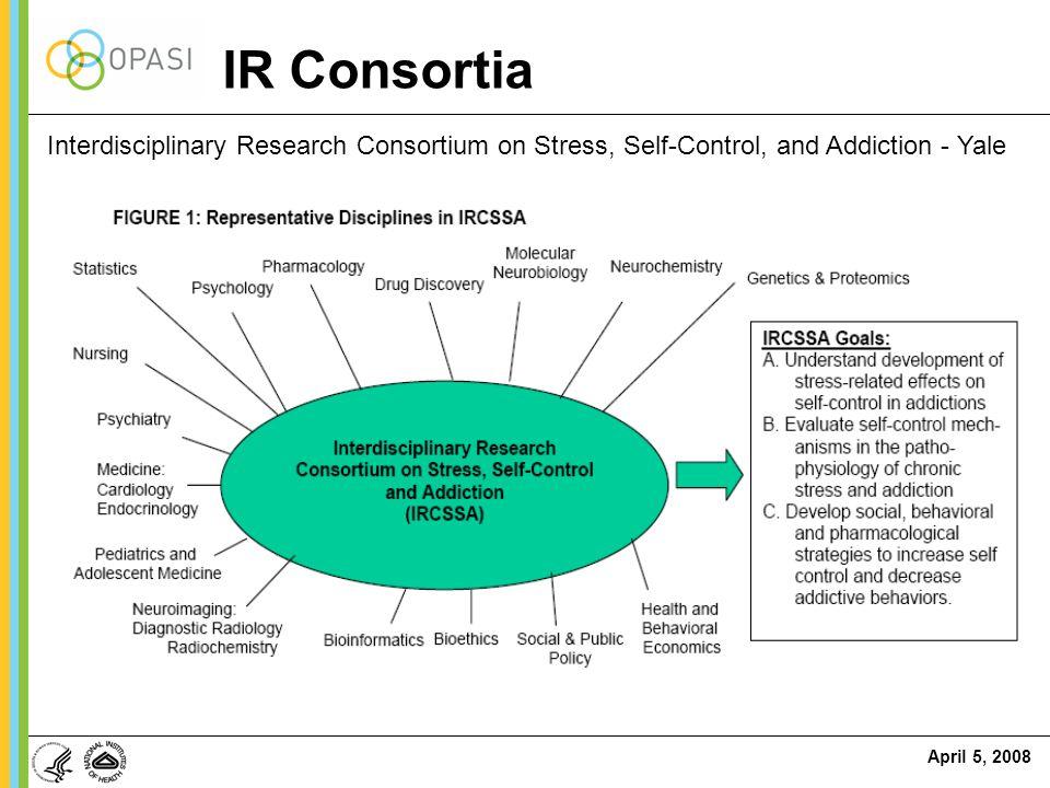 IR Consortia Interdisciplinary Research Consortium on Stress, Self-Control, and Addiction - Yale
