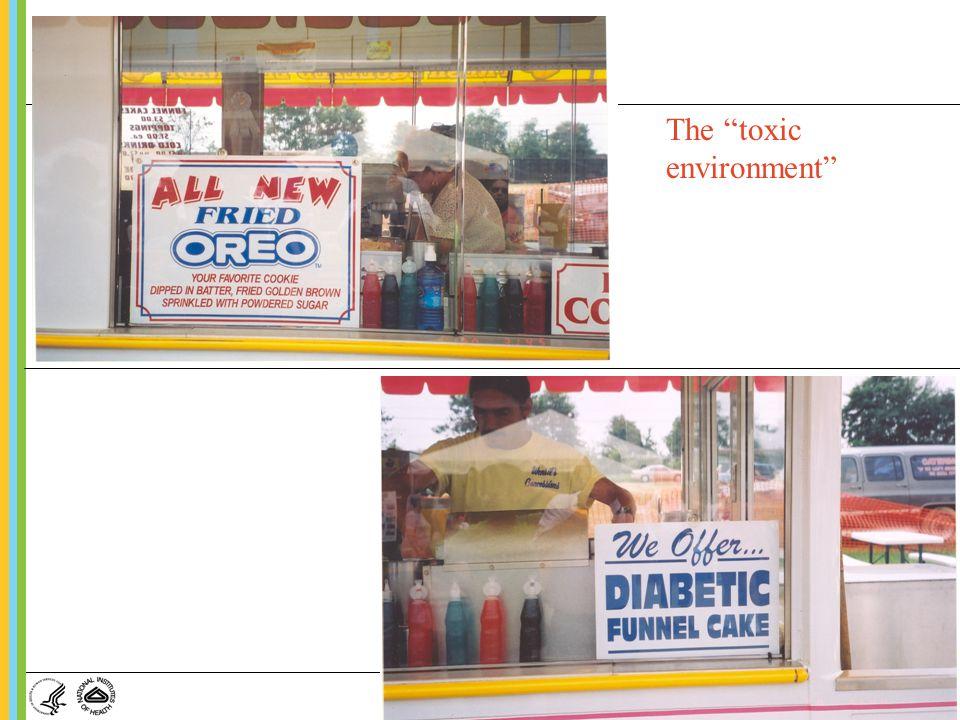 The toxic environment