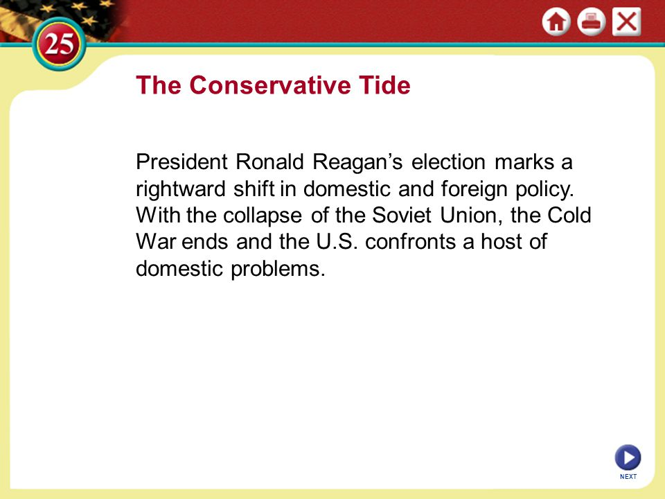 The Conservative Tide