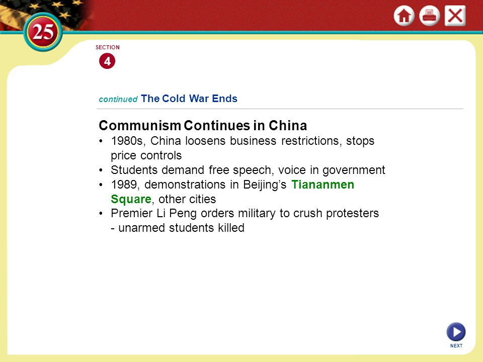 Communism Continues in China
