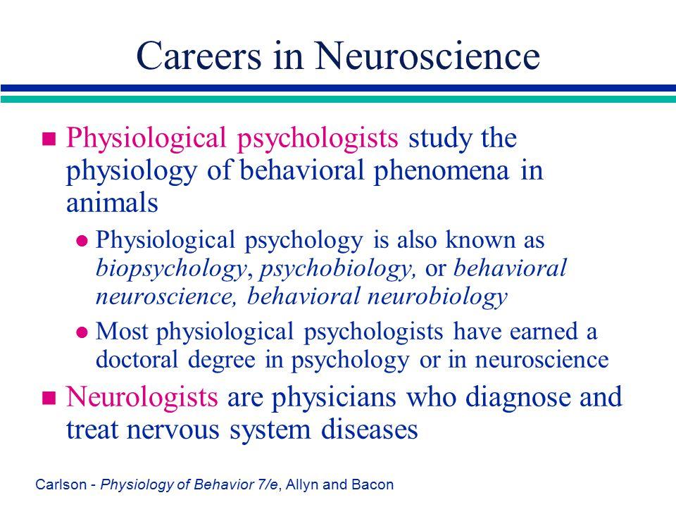 Careers in Neuroscience