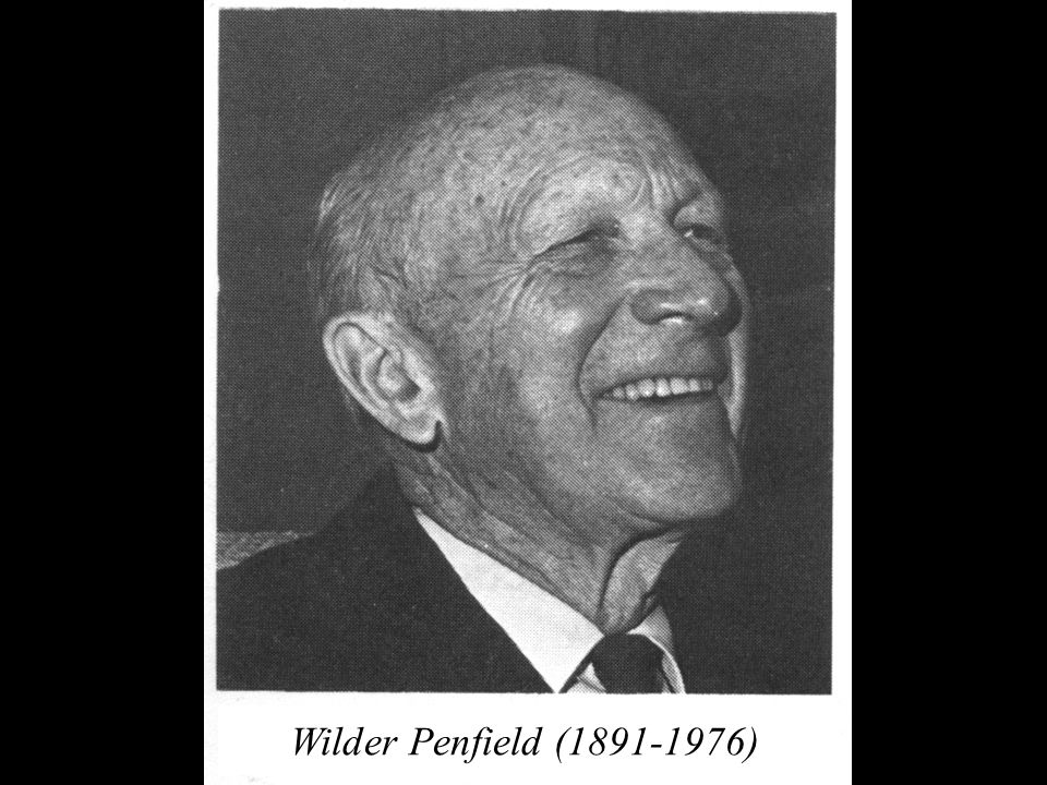 Wilder Penfield (1891-1976)