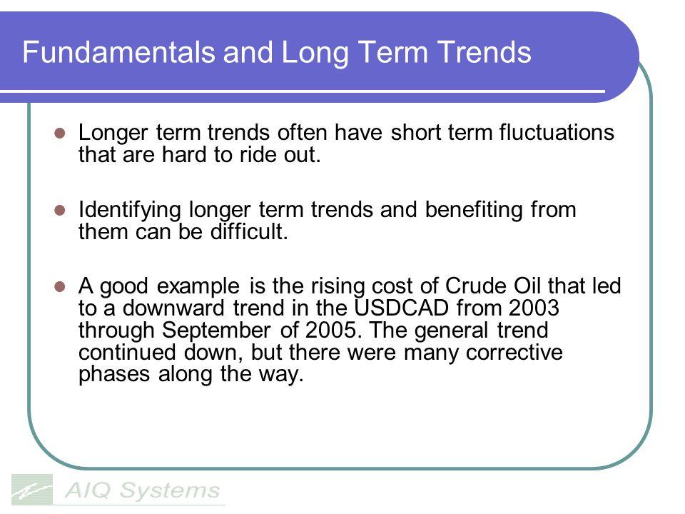 Fundamentals and Long Term Trends