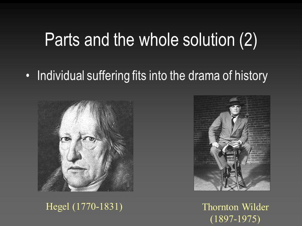 Parts and the whole solution (2)
