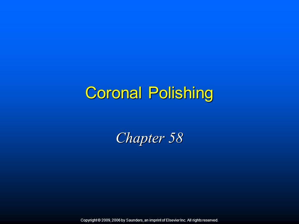 Coronal Polishing Chapter 58 1