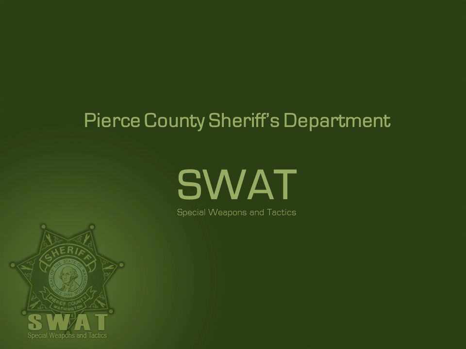 Pierce County Sheriff's Department