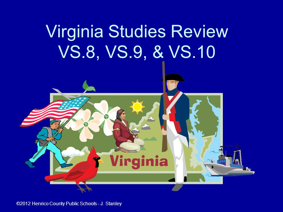 Virginia Studies Review VS.8, VS.9, & VS.10