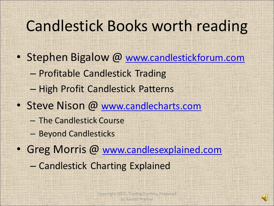Candlestick Books worth reading