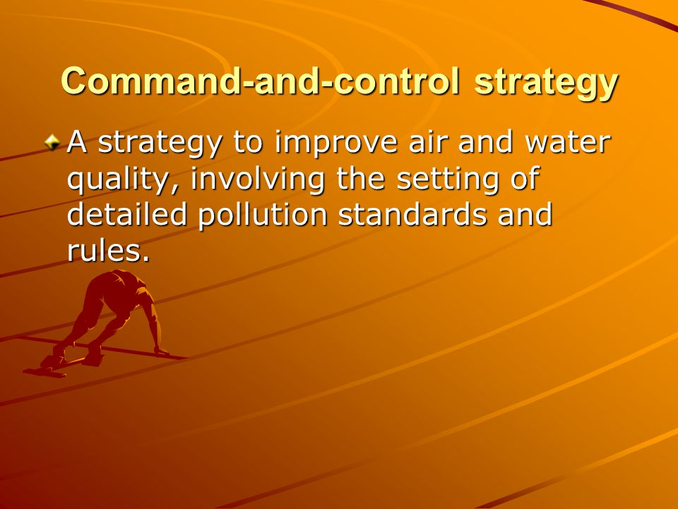 Command-and-control strategy