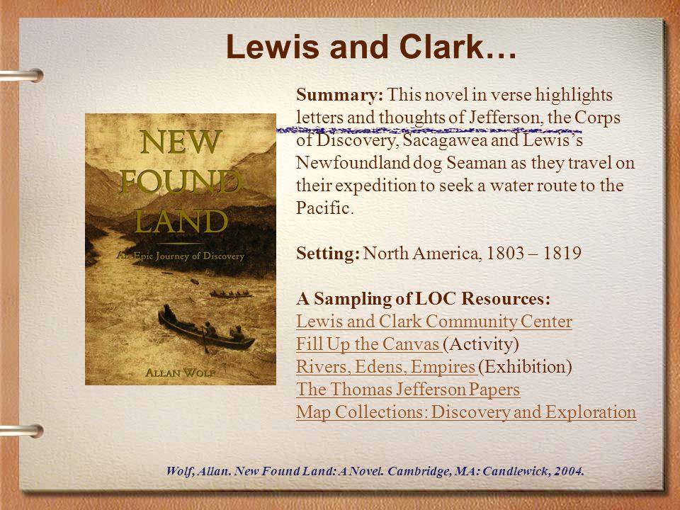 Lewis and Clark…