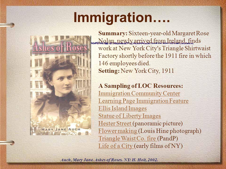 Immigration….