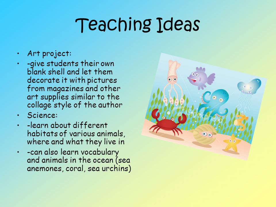 Teaching Ideas Art project: