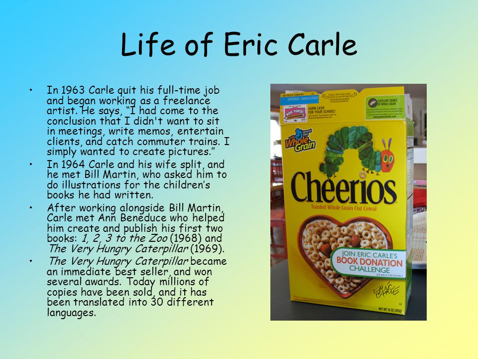 Life of Eric Carle