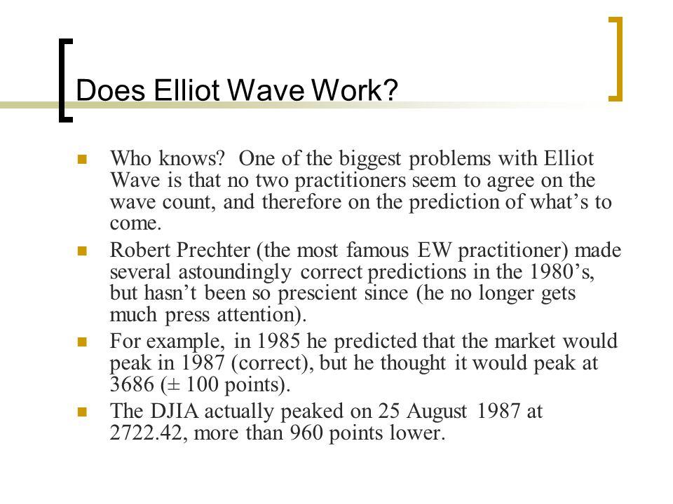 Does Elliot Wave Work