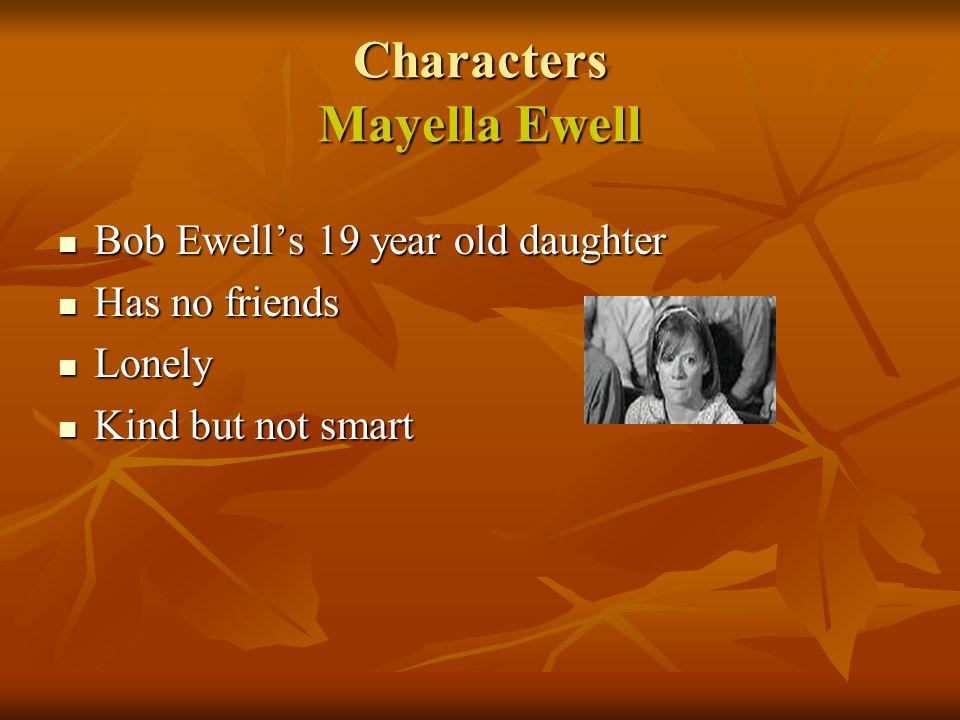 Characters Mayella Ewell