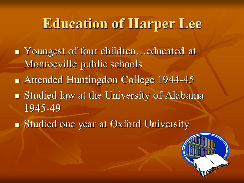 Education of Harper Lee