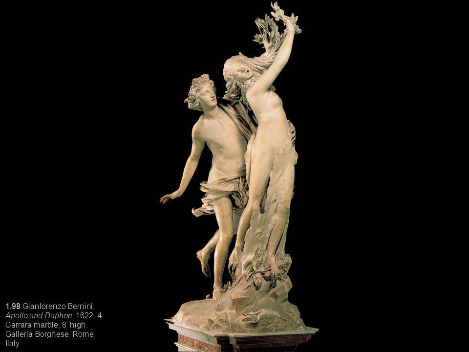 1. 98 Gianlorenzo Bernini, Apollo and Daphne, 1622–4