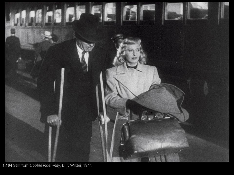 1.104 Still from Double Indemnity, Billy Wilder, 1944