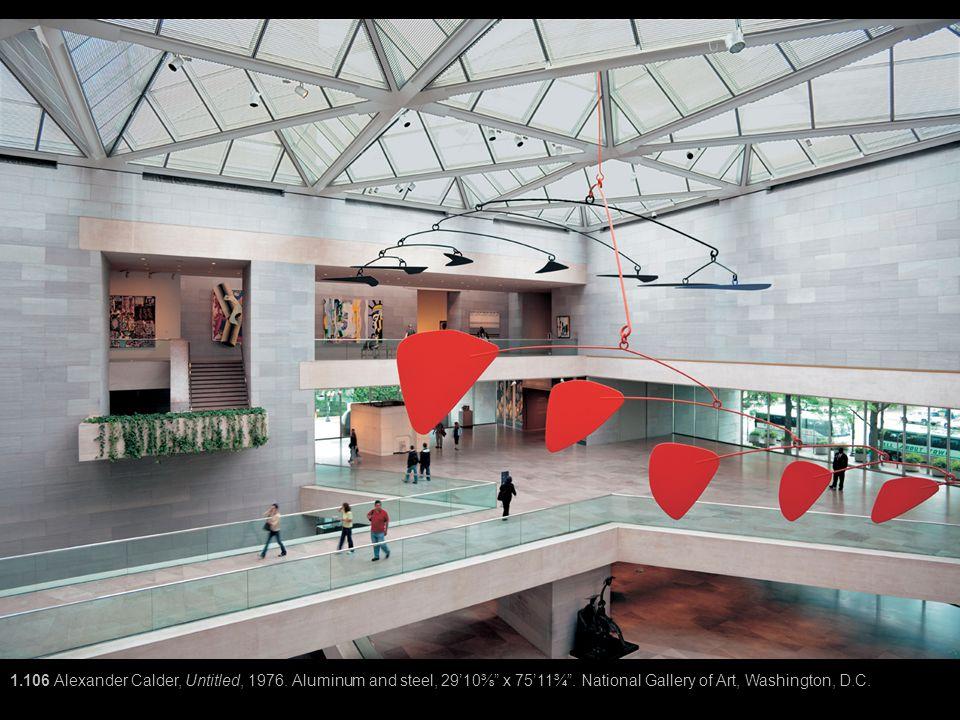 1. 106 Alexander Calder, Untitled, 1976
