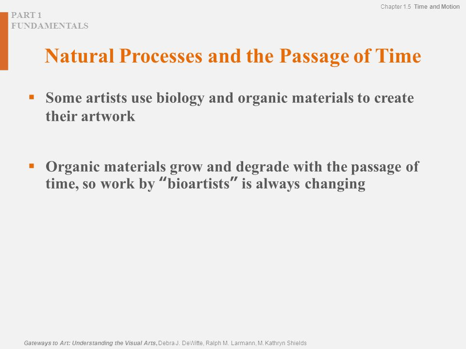 Natural Processes and the Passage of Time