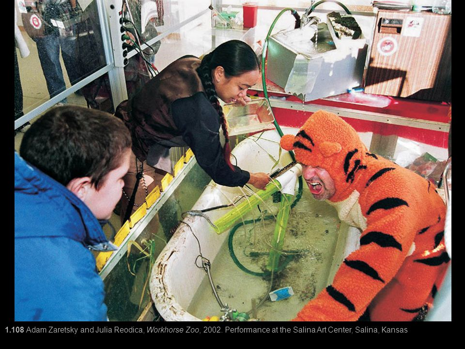 1. 108 Adam Zaretsky and Julia Reodica, Workhorse Zoo, 2002