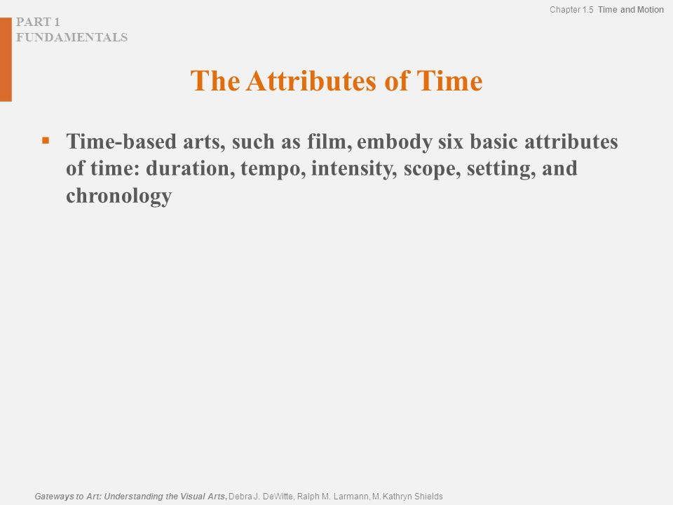 The Attributes of Time