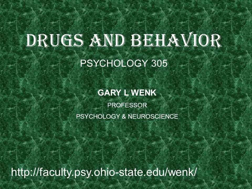 PSYCHOLOGY & NEUROSCIENCE