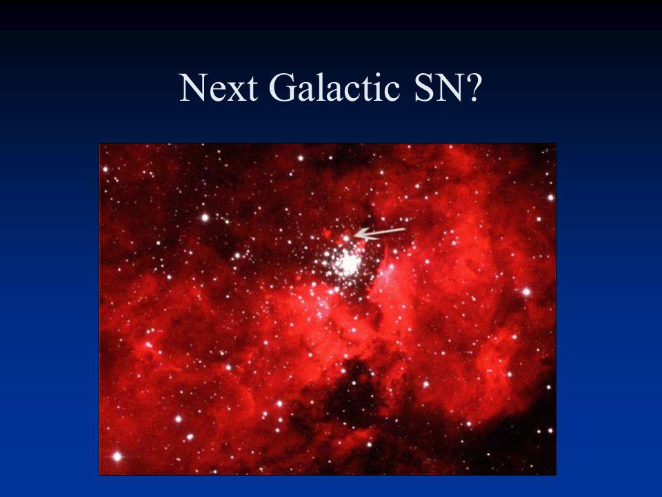 Next Galactic SN