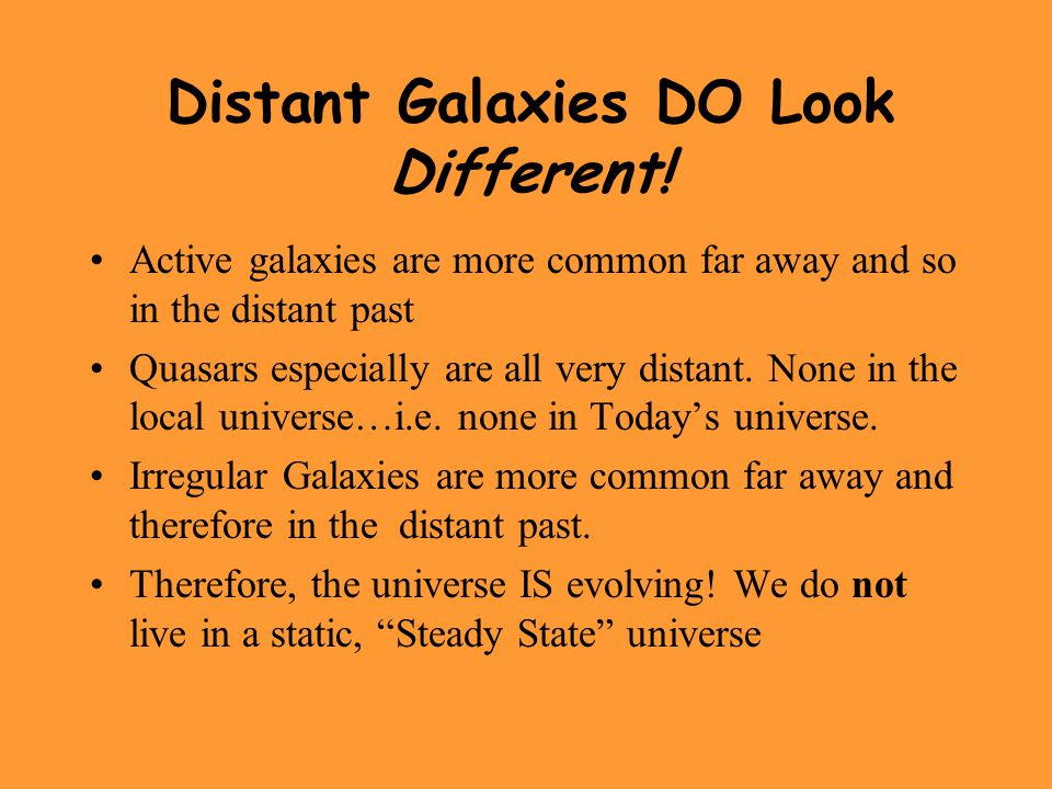 Distant Galaxies DO Look Different!