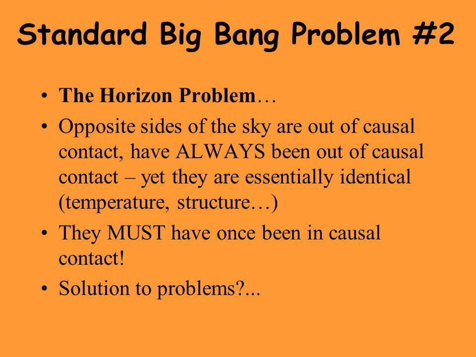 Standard Big Bang Problem #2