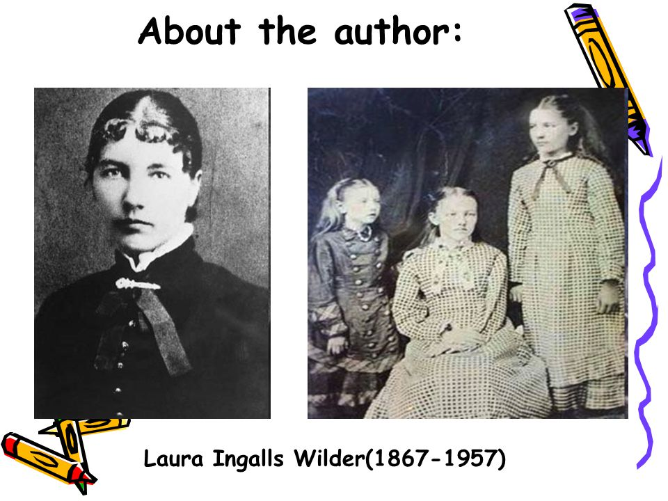 About the author: Laura Ingalls Wilder(1867-1957)