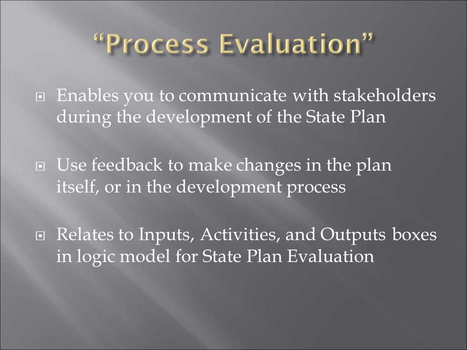 Enables you to communicate with stakeholders during the development of the State Plan