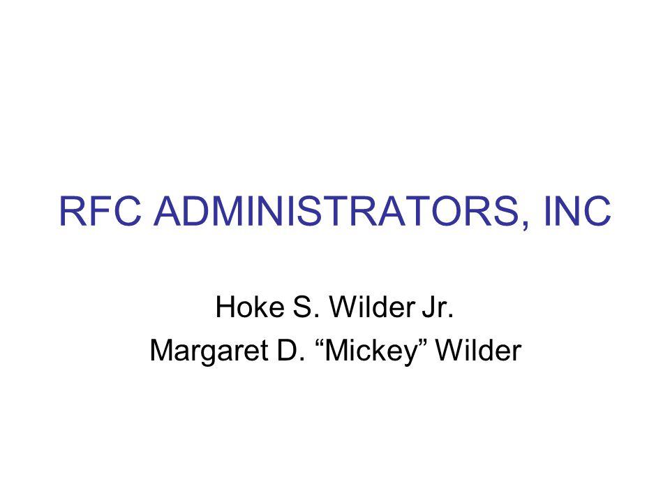 RFC ADMINISTRATORS, INC