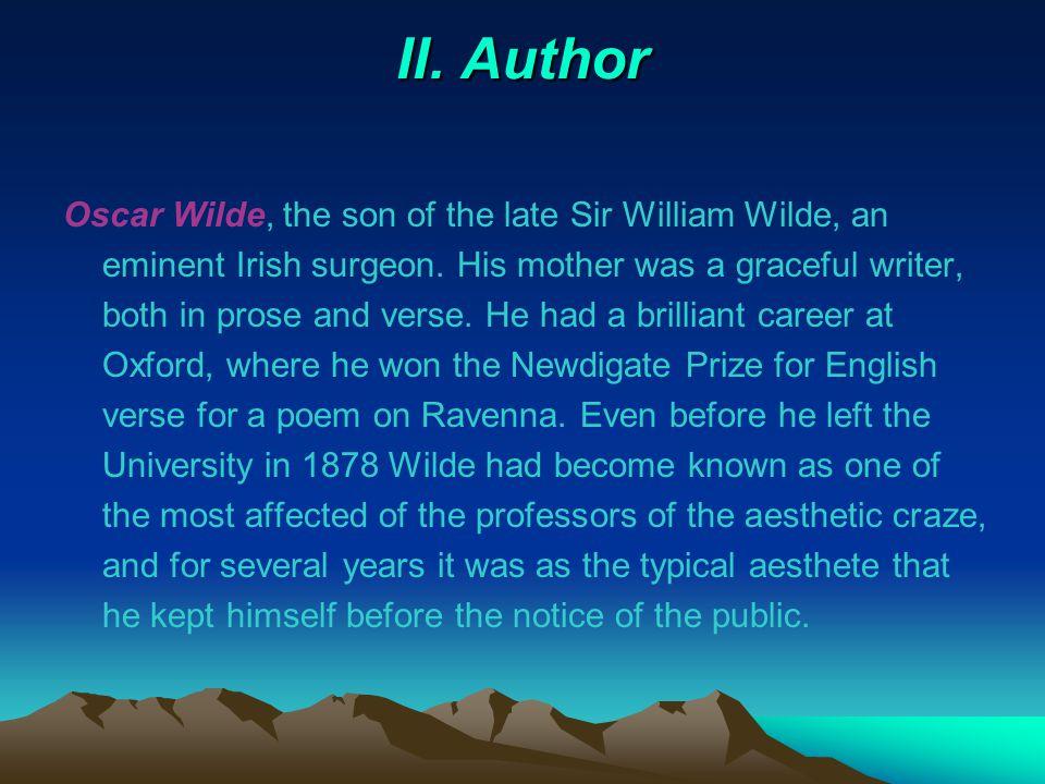 II. Author