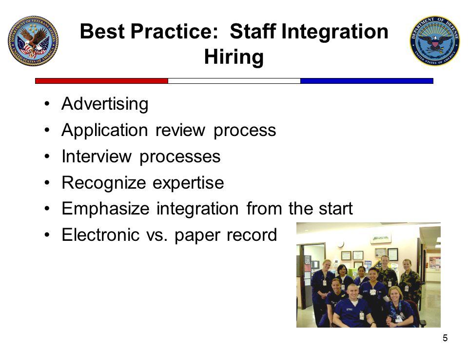 Best Practice: Staff Integration Hiring