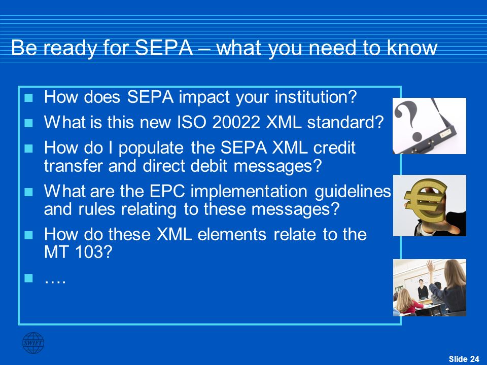 Be ready for SEPA – what you need to know