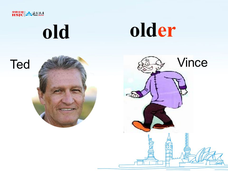 older old Vince Ted