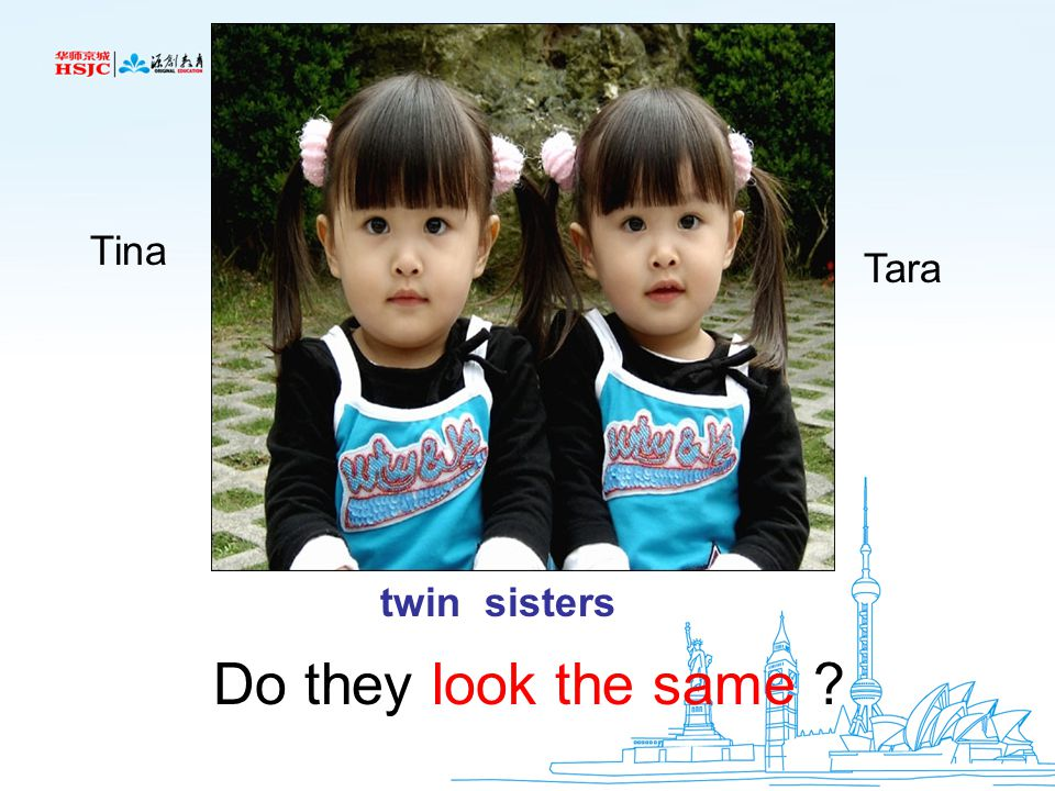 Tina Tara twin sisters Do they look the same