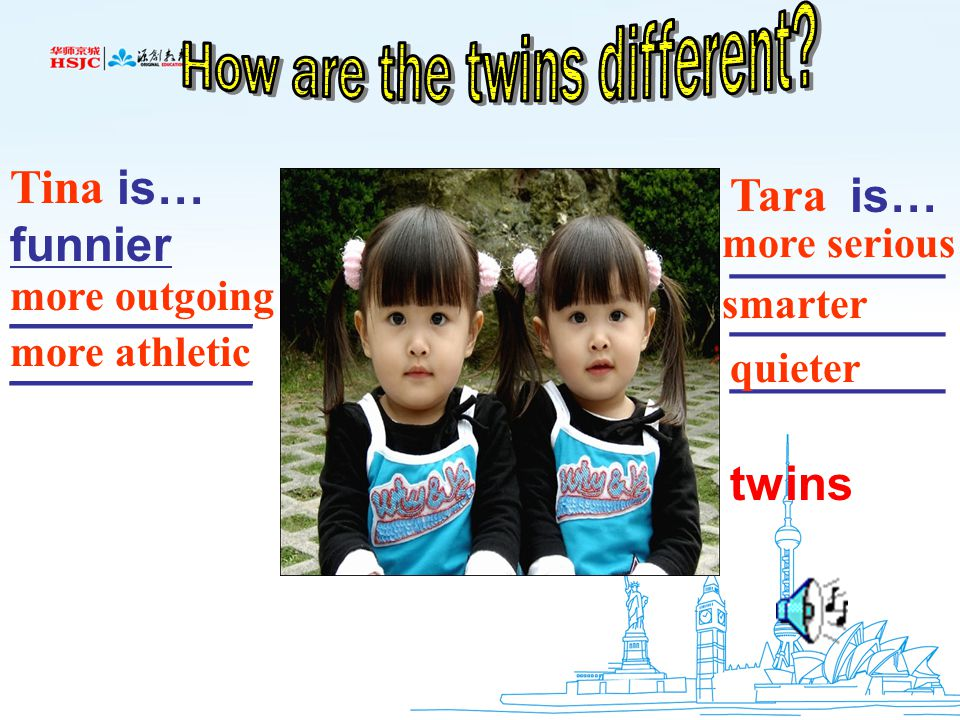 How are the twins different
