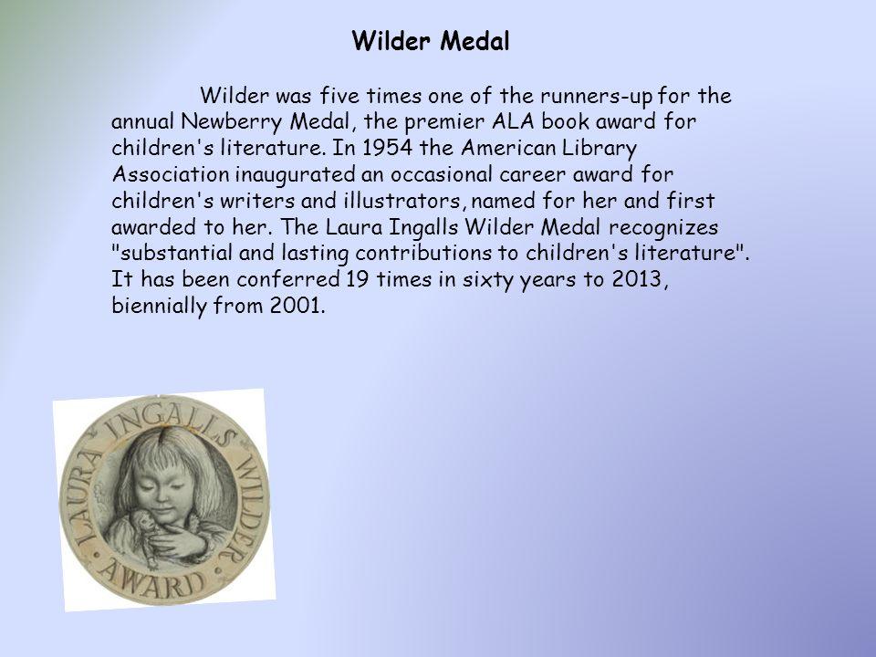Wilder Medal