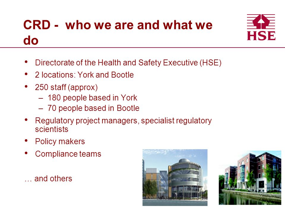CRD - who we are and what we do